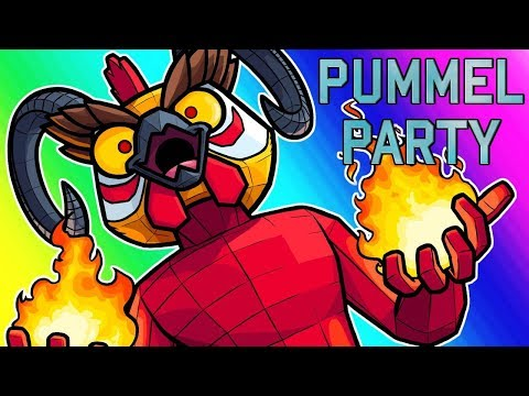 Pummel Party Funny Moments - Mario Party, But With Blood and Satan?