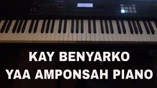 Yaa Amponsah highlife Piano Tutorial  Kay Benyarko Ghana piano style