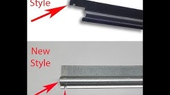 Hon Replacement Hanging File Rails File Bars Old vs New Lateral Side to Side for Hon Filing Cabinets