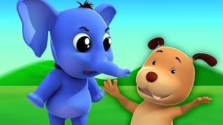 Eeny Meeny Miny Moe   Kinderreime für Kinder   Deutsch Kinderlied   Rhyme For Kids   Baby Song