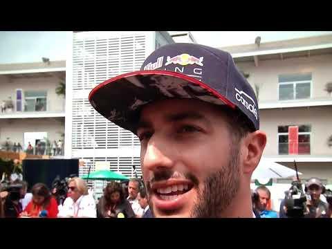 F1 2017 Mexico GP Daniel Ricciardo post race reaction