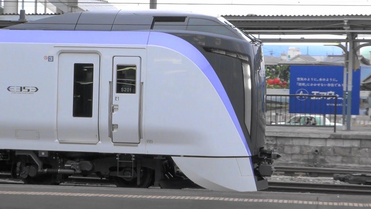 JR東日本 松本駅 新・古参電車 E...