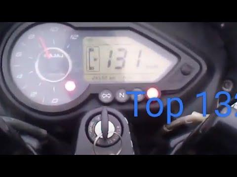 speed test of pulsar 150 cc