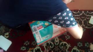 Розпакування для Розетки Підгузники-трусики Pampers Pants Maxi 9-14 кг, Мега 104 шт