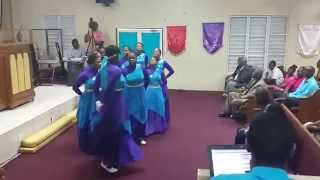 "New Dimension Dancers - Sinach ""I Know Who I Am"""