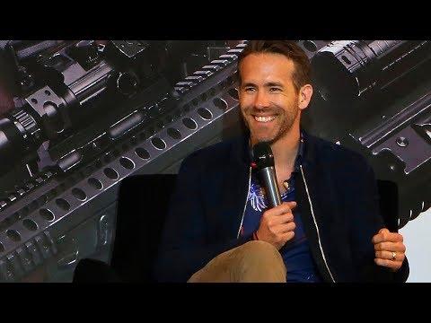 """Ryan Reynolds promociona en México la cinta """"Deadpool 2"""""""