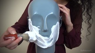 Binaural ASMR Almost Like Whipped Cream on Your Face l Polish Whisper