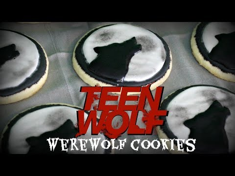 WEREWOLF COOKIES inspired by Teen Wolf! | NICKI LEE BAKES