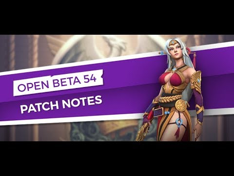 Paladins - Patch Preview - Open Beta 54 (Ice and Gunfire)