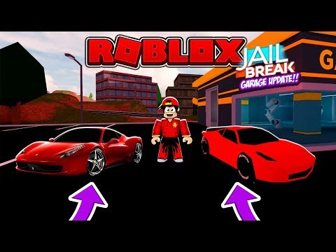 ROBLOX - JAIL BREAK, GARAGE UPDATE #2
