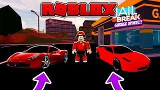 ROBLOX - JAIL BREAK, GARAGE UPDATE #2
