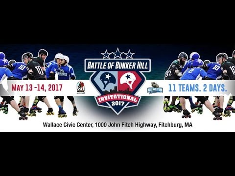 Battle of Bunker Hill 2017 | Day 1 | Rock Coast Rollers Vs Bay State Brawlers