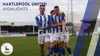 Хартлпул Юнайтед  2-1  Нортгемптон Таун видео