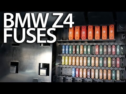 [ZSVE_7041]  Where are fuses in BMW Z4 (E85 E86) electrical fusebox location - YouTube | Fuse Box For 2003 Bmw Z4 |  | YouTube