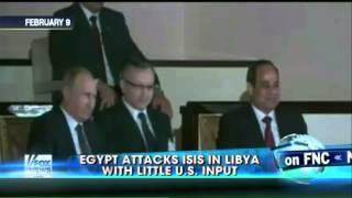 اتفرج| البنتاجون: لا صلة لنا بتوجيه مصر ضربات عسكرية في ليبيا