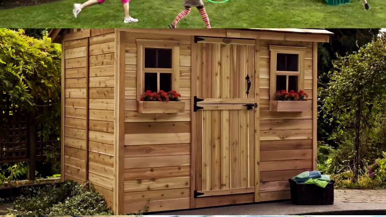 Shed Kit - 9x6 Cabana Garden   Outdoor Living Today - YouTube on Outdoor Living Today Cabana id=92614