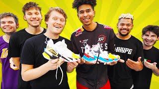 EPIC 2HYPE Custom Sneaker Battle!