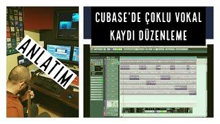 CUBASE'DE VOKAL EDİTLEME - DÜZELTME ( Track Comping , Lanes Seçeneği )