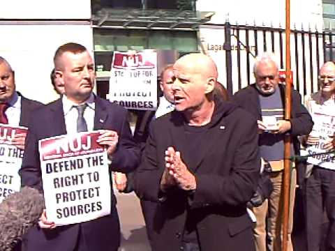NUJ rally for Suzanne Breen