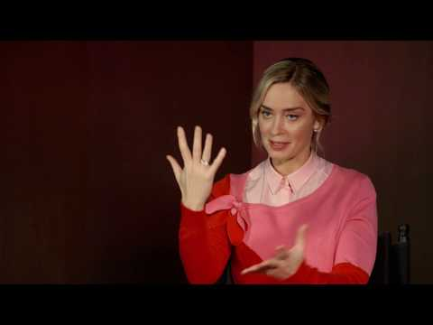 MARY POPPINS RETURNS Emily Blunt Behind The Scenes Interview Mp3