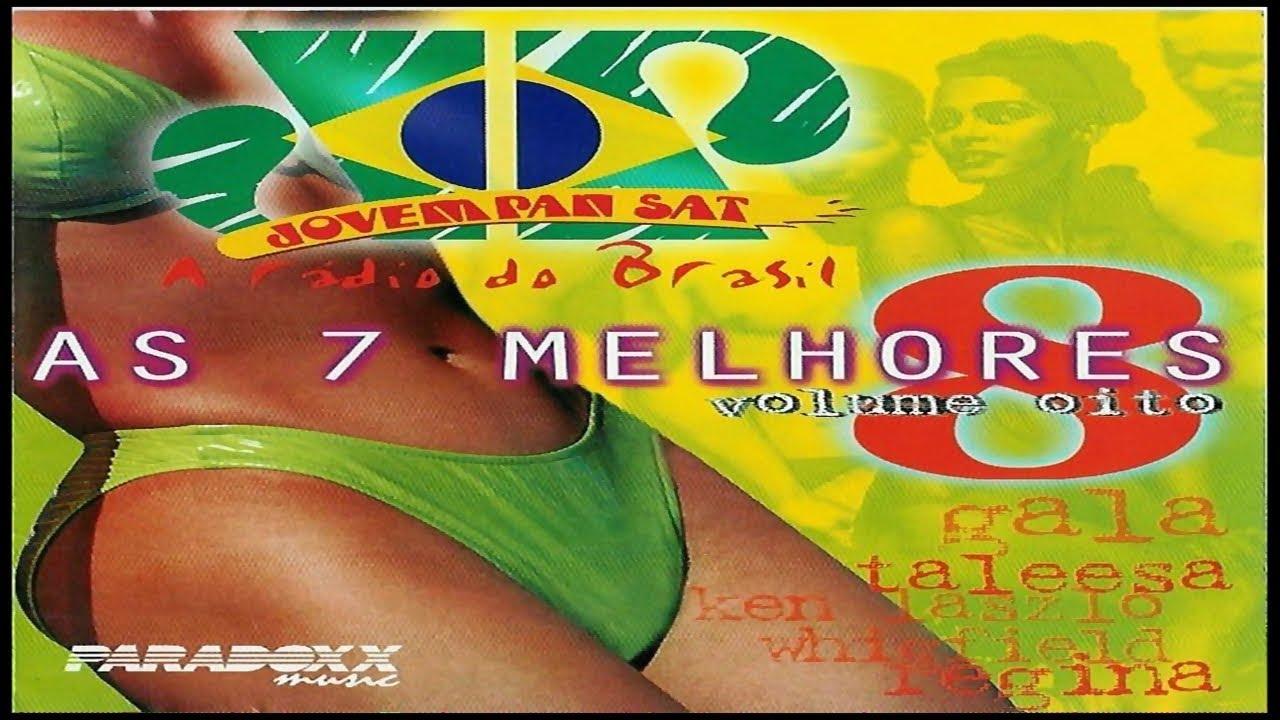 As 7 Melhores Jovem Pan Vol.8 (1998) [CD, Compilation - Paradoxx Music)