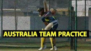 Watch Video: Australian Team Practice in Vizag Ahead Of 1st T20I   India vs Australia