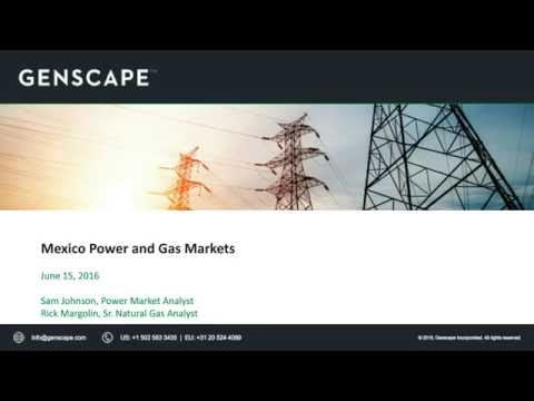 Understanding the Fundamentals of the Mexico Power & Gas Markets