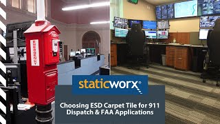 How to Choose Anti Static Carpet Tile for 911 Call Centers and FAA Applications