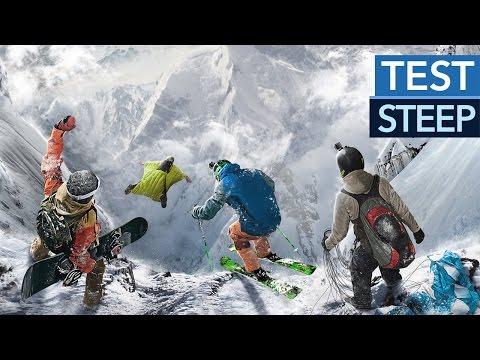 Steep - Test-Video zu Ubisofts Wintersport-Alpen-World