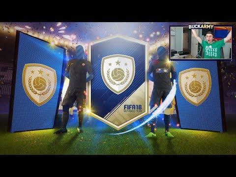 5 GUARANTEED ICON PACKS!!! FIFA 18 Ultimate Team