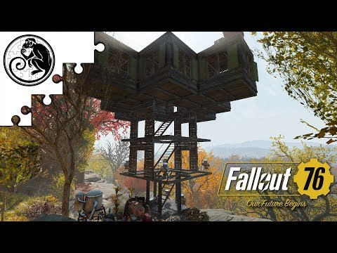 Fallout 76 CAMP Tutorial - Fully Mobile Max Budget Base Step by Step Build