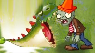Plants vs Zombies 2 China Version All New Plants And Powerup! King Plant