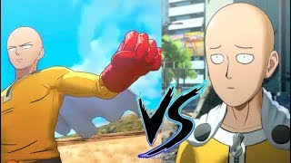 Defeat Saitama vs Get Defeated - One Punch Man A Hero Nobody Knows Alternate Endings