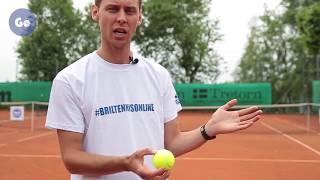 Подача и секреты приема в теннисе. Часть 2: Подброс мяча на подаче