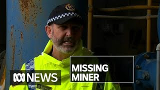 Rescue mission underway for miner missing in 'extremely dark, dangerous' environment | ABC News