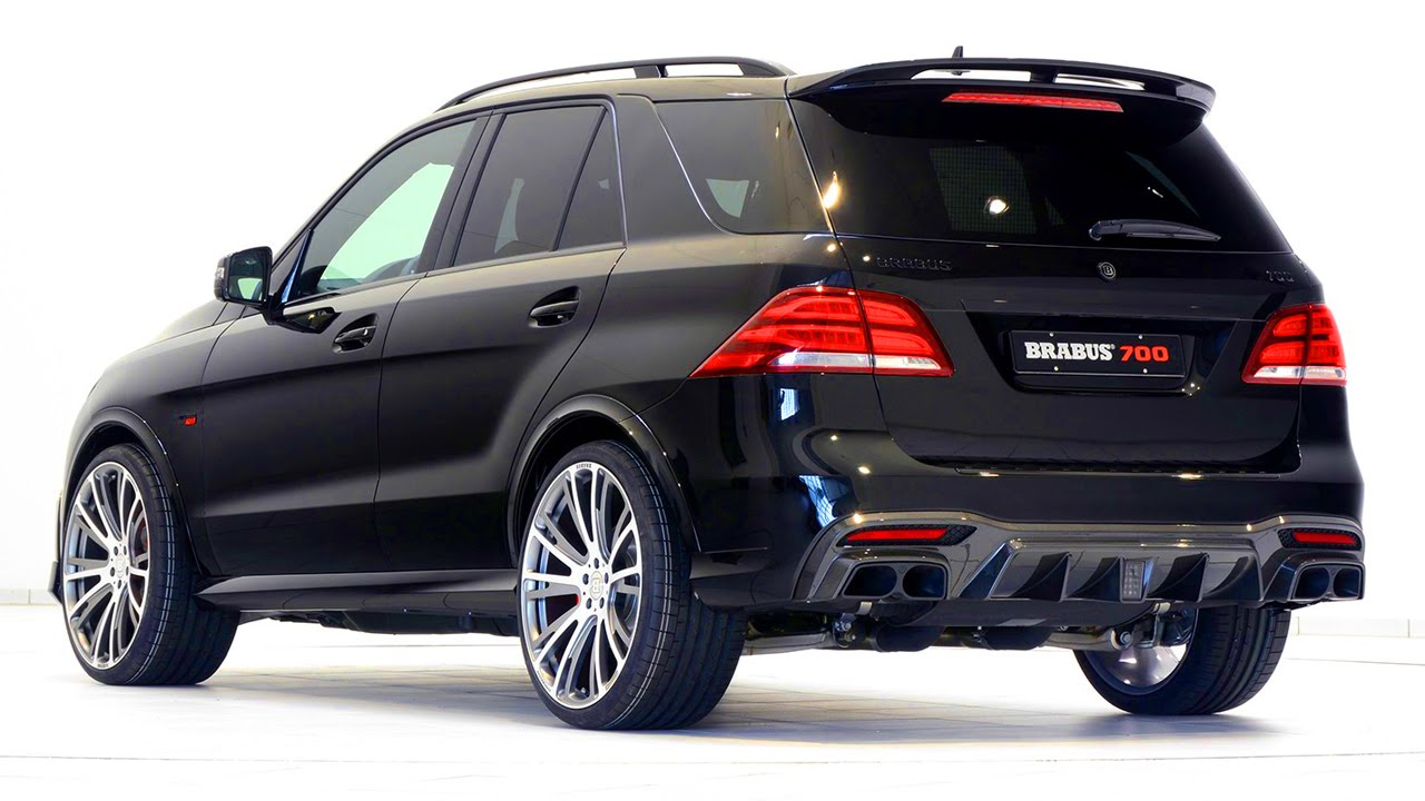 BRABUS 700 based on the Mercedes GLE 63 S - YouTube
