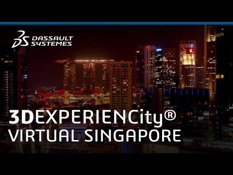 .新加坡借 3D 列印技術和 3D 模型做城市規劃