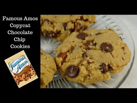 Famous Amos Copycat Chocolate Chip Cookies -recipes Using Cake Mixes