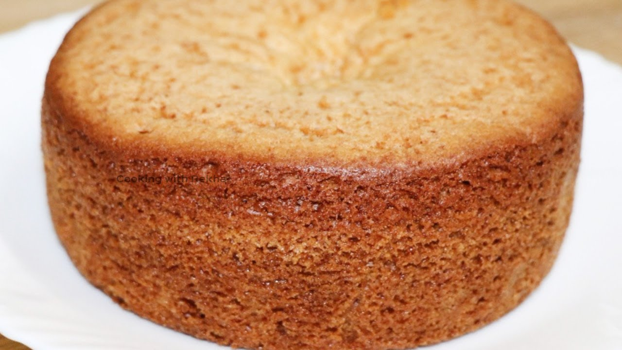 Eggless Cake Recipe In Marathi With Oven: Sponge Cake Recipe / Eggless Sponge Cake/sponge Cake
