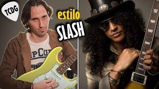Aprende Como Tocar Un Solo En El Estilo De Slash (Guns N´ Roses) En Guitarra Eléctrica TCDG