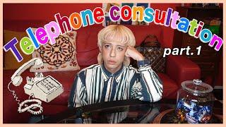 ファンの方と生電話 ☎️ して相談にのってみたよん😆🌈💕