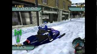 Sno Cross Championship Racing - Gameplay PSX (PS One) HD 720P (Playstation classics)