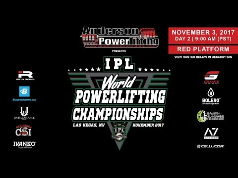 IPL World Powerlifting Championships | Day 2 - Red Platform