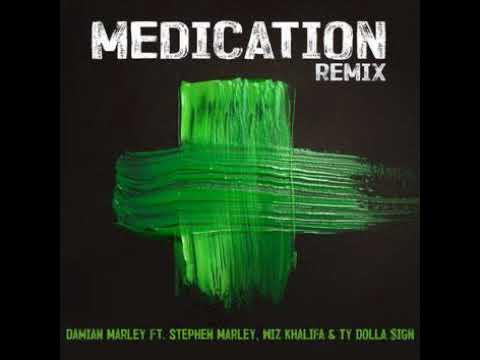 Damian MarleyMedication Remix featStephen Marley, Wiz Khalifa & Ty Dolla $ign