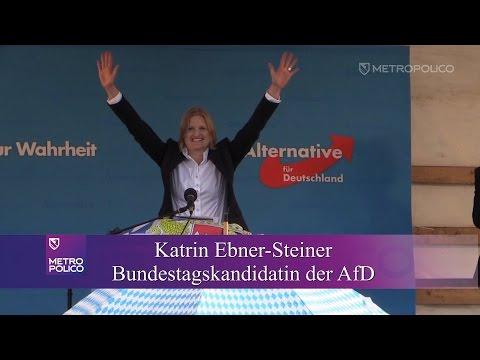 """»MIr san mir!"""" oder: Wahlkampf in Bayern - Katrin Ebner-Steiner on Tour"""