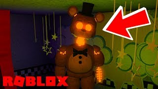 Finding Secret Ignited Freddy Badge in Roblox Freddy Fazbear's Entertainment 1992 The Roleplay