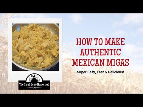 Authentic Mexican Migas Recipe