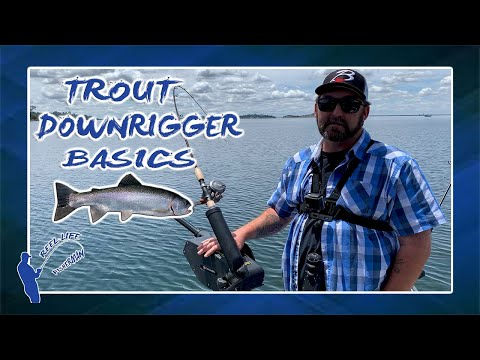 TROUT TROLLING AND DOWNRIGGER BASICS | FOLSOM LAKE