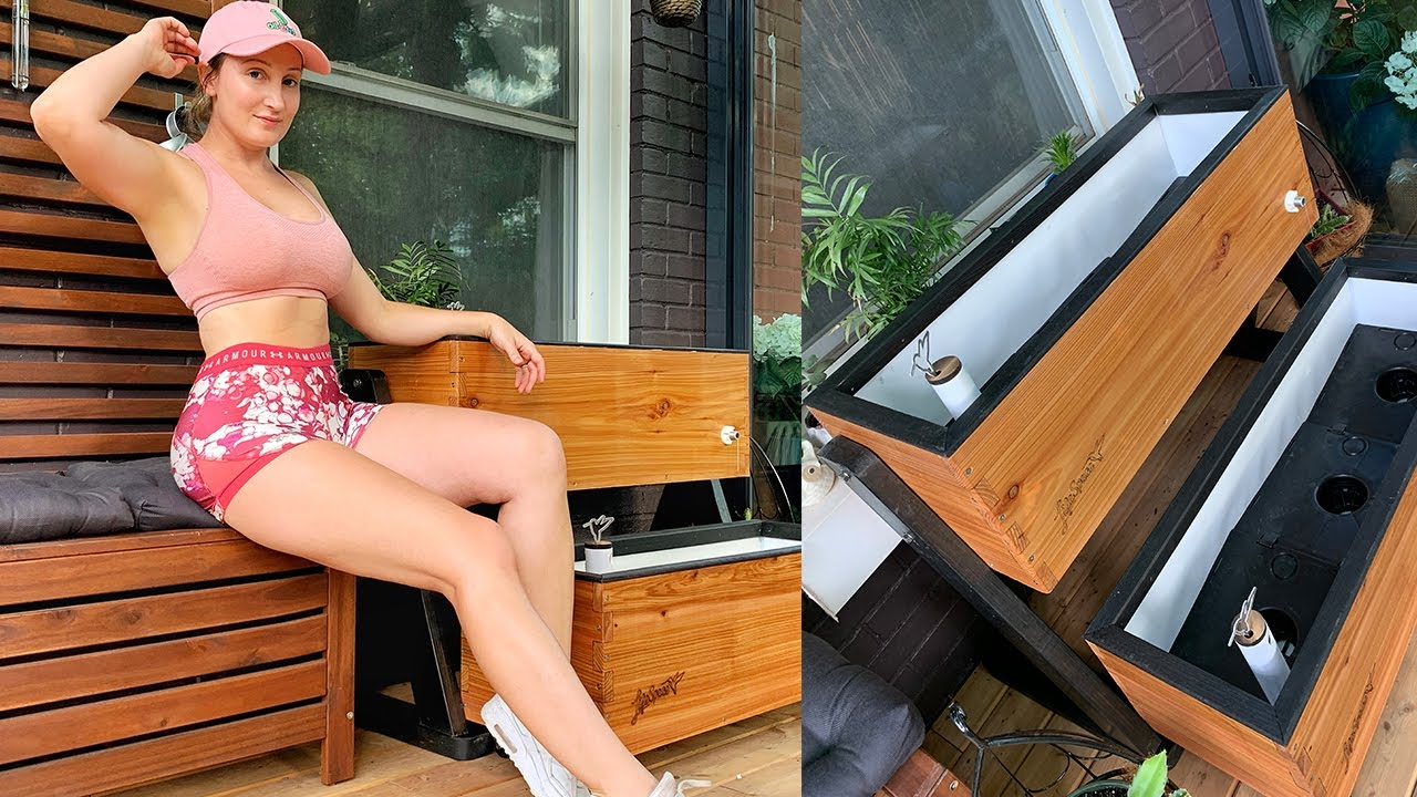 Unboxing LifeSpace Gardens, Self Watering Planters For My New Sunroom! HOLLY WOLF