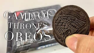 Game of Thrones Limited Edition Oreo Cookies Review